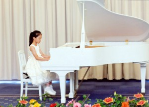kちゃん、ピアノ発表会